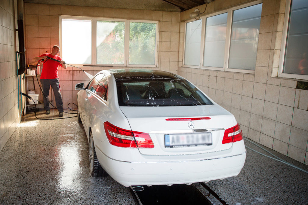 autoklinika pranje vozila